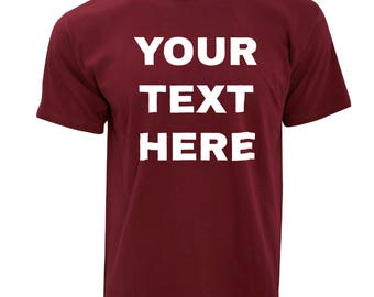Personalized Custom Shirts- Made Your Way!  Many Color and Style Options