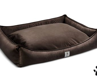 Dog bed The Dreamer chocolate brown