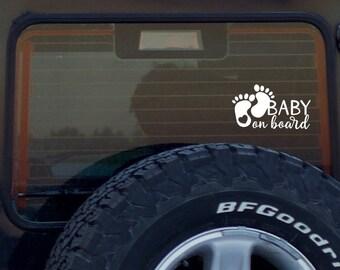 Baby On Board Decal, Baby On Board Car Sticker, Car Decal, Car Sign, Baby In Car Sticker, Newborn Gift, Cute Car Vinyl Decal