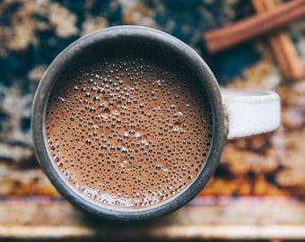 Chai, You Fools!  Organic Cacao Drinking Chocolate Hot Chocolate Cocoa