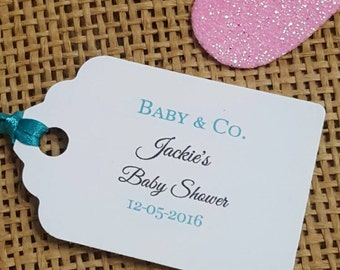 Tiffany favor tags etsy personalized favor tags 2lx1w wedding tags thank you tags favor tags gift negle Images