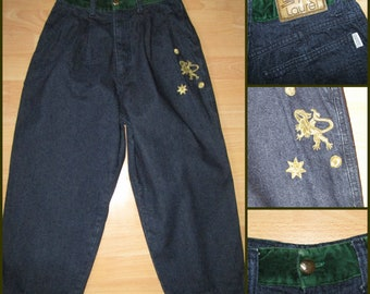 Rare Laurel Escada jeans 80's very high waist