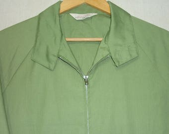 1970s Jacket / L / Golf Jacket / Windbreaker / Tennis Jacket / 70s Jacket / Windcheater / Vintage 1970s Mens Clothing / Light Jacket / Large