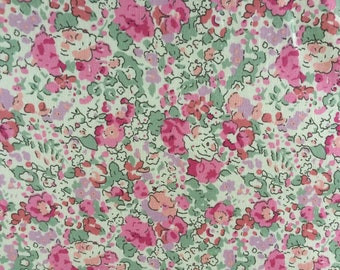 CLAIRE AUDE 1.00 Metre in SHADES of Pinks, Sage Green, ect, on Tana lawn