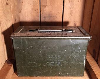 Ammunition Box with Original Paint