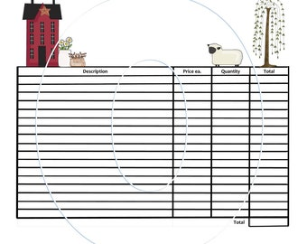 Consignment Etsy - Lawn care invoice template pdf online lingerie store