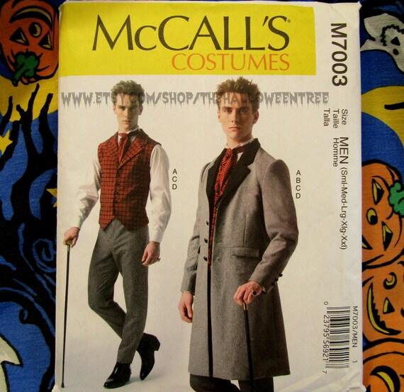 McCalls 7003 Steampunk Victorian Edwardian Jacke Weste