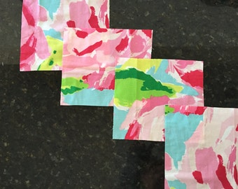 Patches  fabrics Lilly  First Impression 6x6 5x5