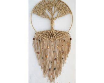 Handmade Macrame Wall Hanging - Tree of Life