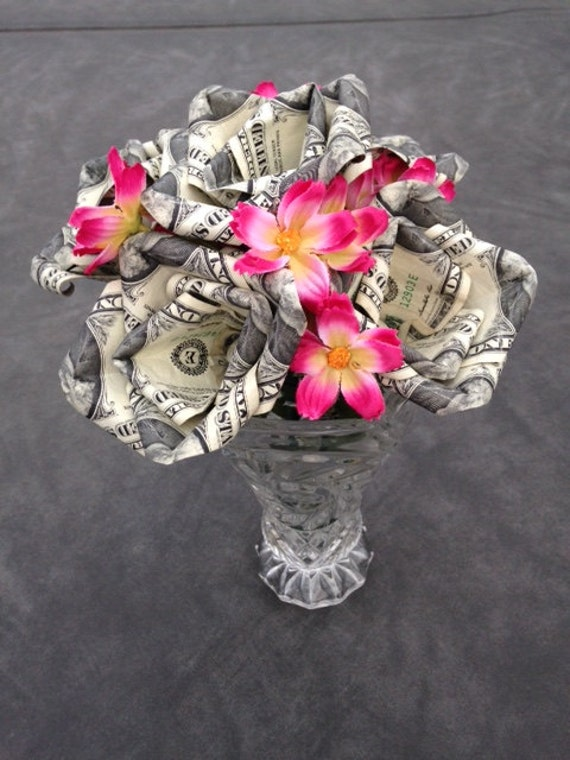 Money Roses Money Roses Bouquet Money Flowers Money