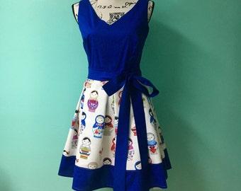 Russian Doll Matryoshka Dres
