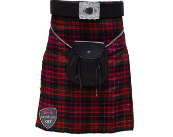 Onstyle Scottish Highland Active Men Utility Sports Macdonald Tartan Kilts