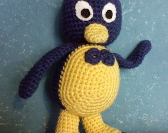 PDF - Pablo the penguin from The Backyardigans - 10.8 inches amigurumi doll crochet pattern