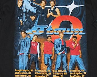 M/L * NOS vtg O Town concert tour t shirt * boy band medium large * 49.125