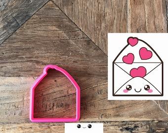 cookie cutter envelope love
