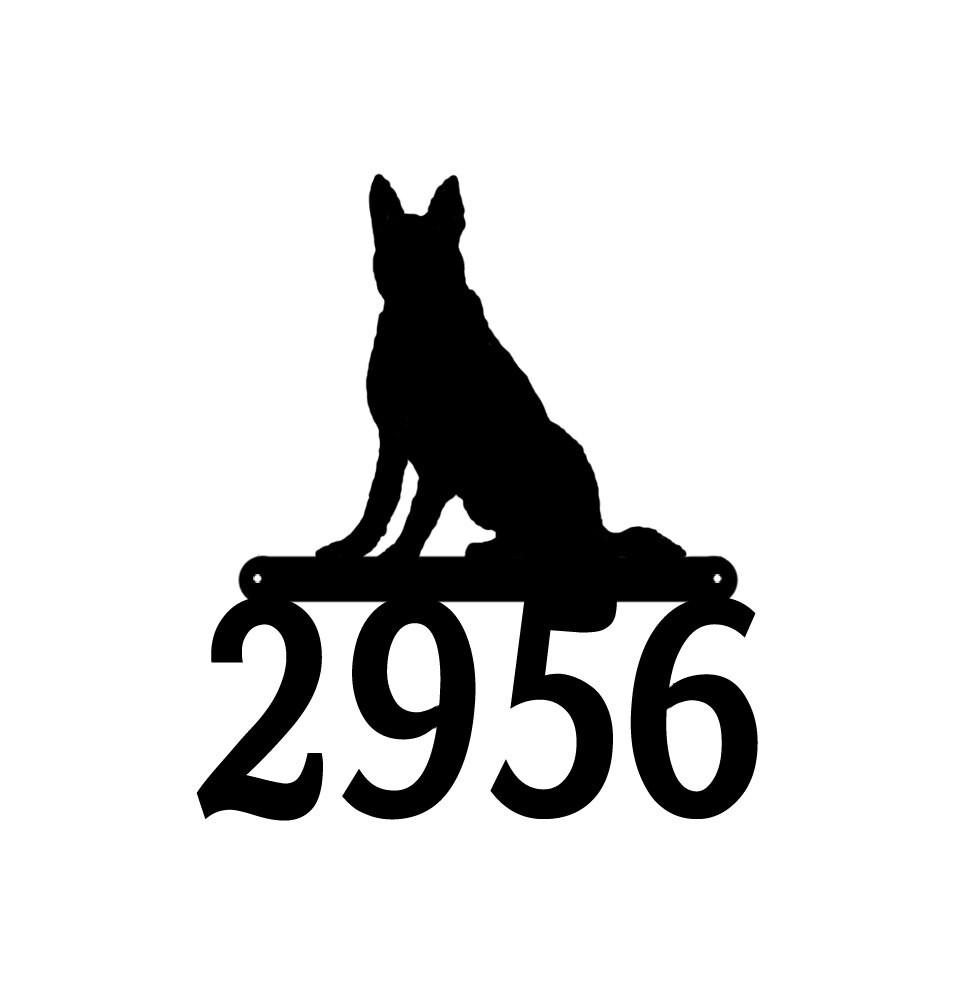 german shepherd dog metal address sign metal house number sign rh etsy com german shepherd logan ohio german shepherd look like