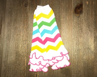 Leg Warmer // Multi Color // Rainbow // Baby Leg Warmers // Ruffled Baby Leg Warmer // Toddler Leg Warmer // Infant Leg Warmer // Arm Warmer