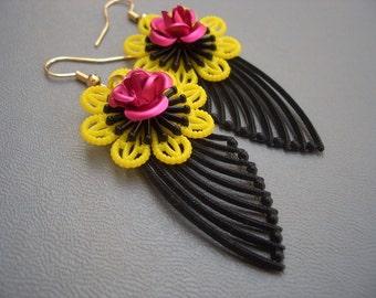 Hello Dolly Wing Earrings