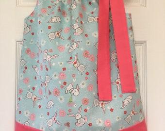 Bunny Pillowcase Dress Size 2T