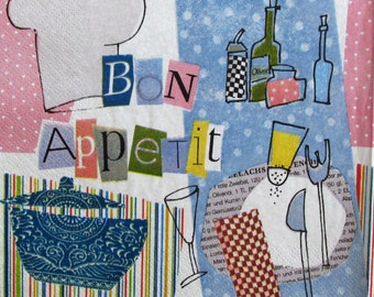 Decoupage paper napkins Decoupage paper Napkin for decoupage Eat France