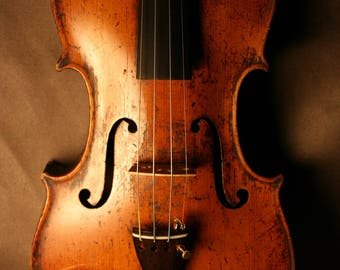Violon ancien Mittenwald 1850 - Old antique 1850 Mittenwald Violin