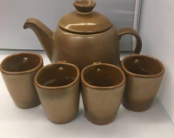 Frankoma Teapot Set