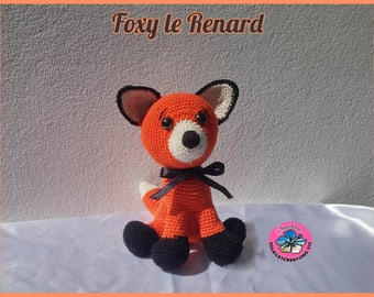 Foxy Fox - handmade crochet