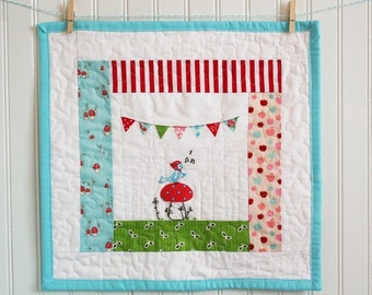 Little Bunting Bird EMBROIDERY PATTERN