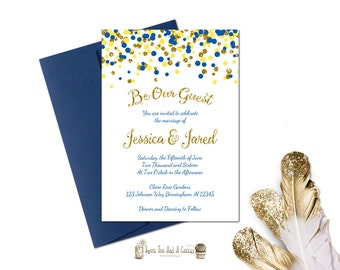 Beauty and the Beast Wedding Invitation Suite Princess