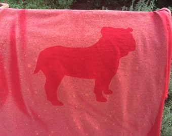 Bulldog Bleach Art Shirt