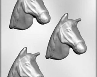Horse Head Chocolate Candy Mold Western Cowboy Soap