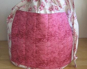 Elizabeth Rose, Needlework Knitting Bag, Epattern, PDF, Downloadable Digital Pattern