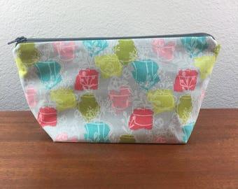 Small Succulent Zipper Bag