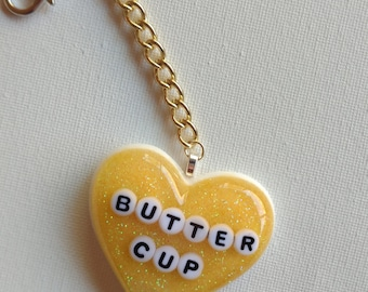 Yellow ButterCup Keychain