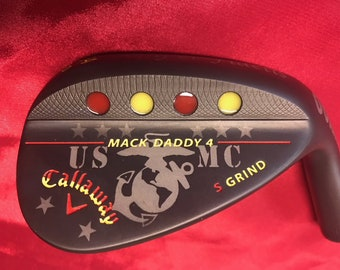 Callaway Mack Daddy 4 Custom USMC Marines Golf Wedge-