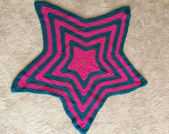 Star-shaped Baby blanket