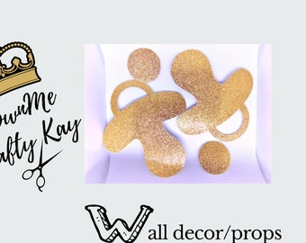 Pacifier Wall decor/Props {Event Decoration}
