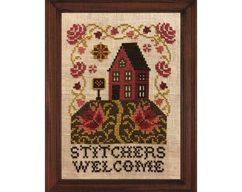 NEW - Stitcher's House - cross stitch pattern - PDF digital download