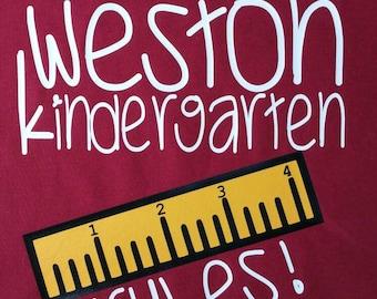 Kindergarten rules Tshirt