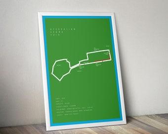 F1 Azerbaijan Grand Prix - A3 Size - Digital Download