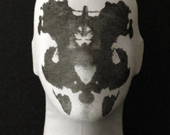 The ORIGINAL Moving Rorschach Inkblot Mask - Version 2