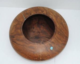 Craig Richardson bowl with Turquoise