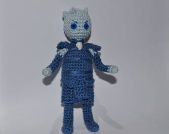 Night King amigurumi crochet toy White Walker inspired Game of Thrones