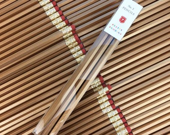 Mother's Day Gift / Gold Pencils, set of 9, Back to School Supplies, Gifts for him, Gifts for her, Preppy School Supplies