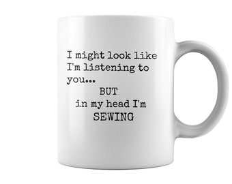 Funny Sewing Mug