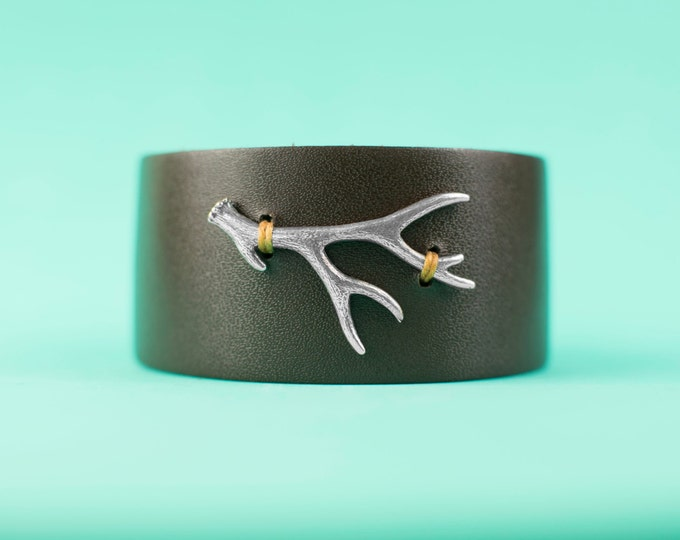 Along the way single antler cuff