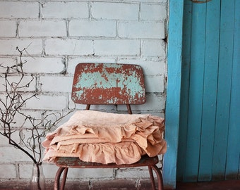 RUSTIC Linen duvet cover handmade, linen duvet cover queen, linen duvet cover king, luxury softened linen bedding. Extra fast shipping.