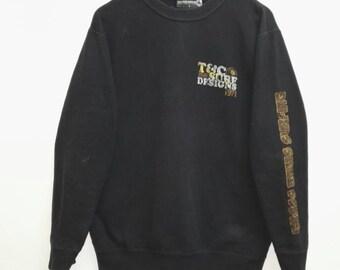 Vintage Sweatshirt T&C Surf Designs nice design /Japan/Hip-hop/USA