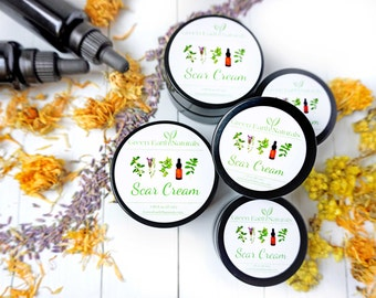 Scar Cream - Scar removal cream - Helps all types of scars from stretch marks to acne scarring