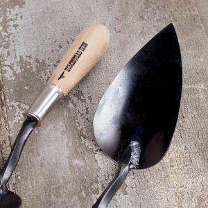 Trowel, Large Shovel Garden Tools Hand Forged, Blacksmith Made